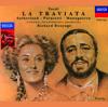 Dame Joan Sutherland, Luciano Pavarotti, Matteo Manuguerra, National Philharmonic Orchestra & Richard Bonynge - Verdi: La Traviata  artwork