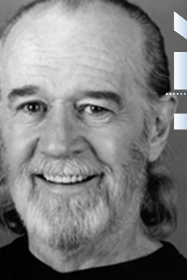 George Carlin with Judy Gold at the 92nd Street Y - George Carlin