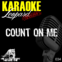 Free Download Karaoke Hits Count On Me (Karaoke Version In the Style of Bruno Mars) Mp3
