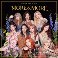 TWICE - MORE & MORE artwork