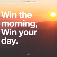 Win the Morning Win Your Day (Motivational Speech) Fearless Motivation MP3