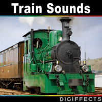 1909 Steam Train Fast Ride in Locomotive with Departure and Whistle Digiffects Sound Effects Library MP3