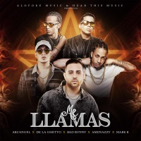 Me Llamas - Single - Arcángel, Mark B, De La Ghetto, Bad Bunny & El Nene La Amenaza mp3 download