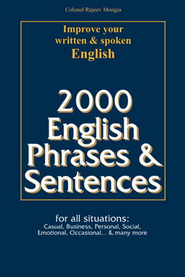 2000 English Phrases & Sentences - Colonel Rajeev Mongia