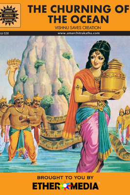 The Churning of the Ocean - Amar Chitra Katha