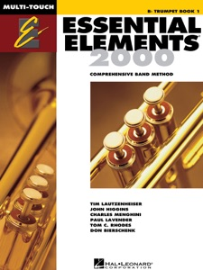 Essential Elements 2000 - Book 1 for Bb Trumpet (Textbook) by Tim