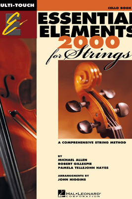 Essential Elements 2000 for Strings - Book 1 for Cello (Textbook) - Robert Gillespie
