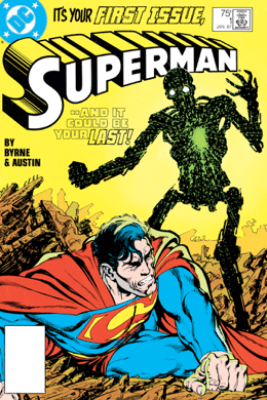 Superman (1987-2006) #1 - John Byrne & Terry Austin