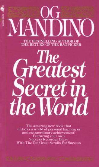 The Greatest Secret in the World - Og Mandino pdf download