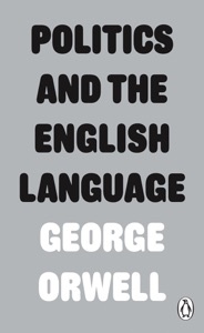 Politics and the English Language - George Orwell pdf download