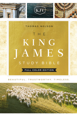 The King James Study Bible, Full-Color Edition - Thomas Nelson