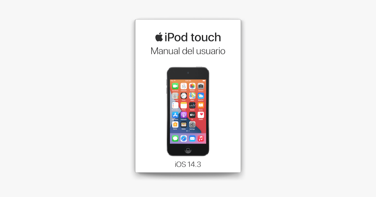 Manual del usuario del iPod touch on Apple Books