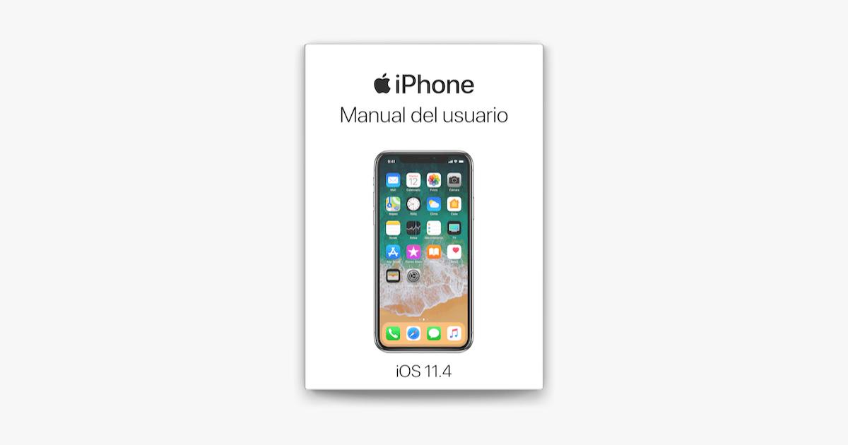 Manual del usuario del iPhone para iOS 11.4 en Apple Books