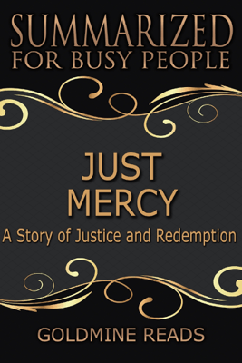 Just Mercy - Goldmine Reads
