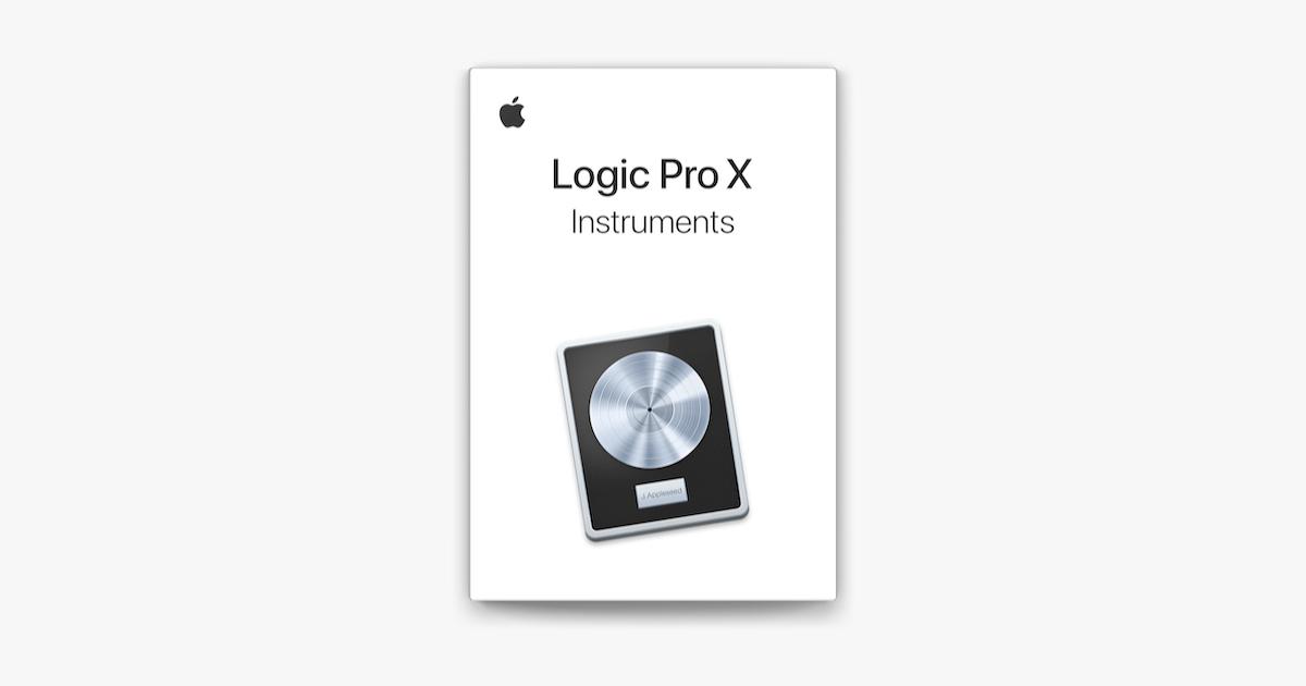 Logic Pro X Instruments on Apple Books