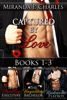 Miranda P. Charles - Captured by Love Books 1-3 (The Unwilling Executive, The Unyielding Bachelor, The Undercover Playboy)  artwork