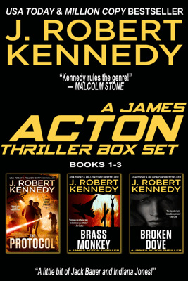 The James Acton Thrillers Series: Books 1-3 - J. Robert Kennedy