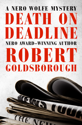 Death on Deadline - Robert Goldsborough pdf download