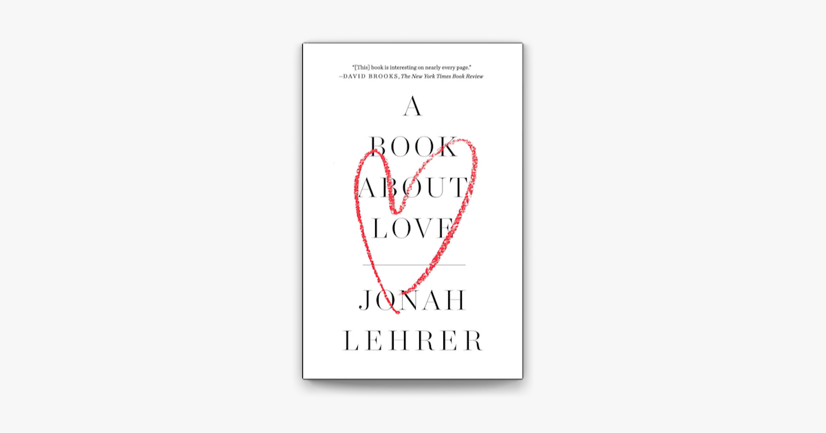 A Book About Love on Apple Books