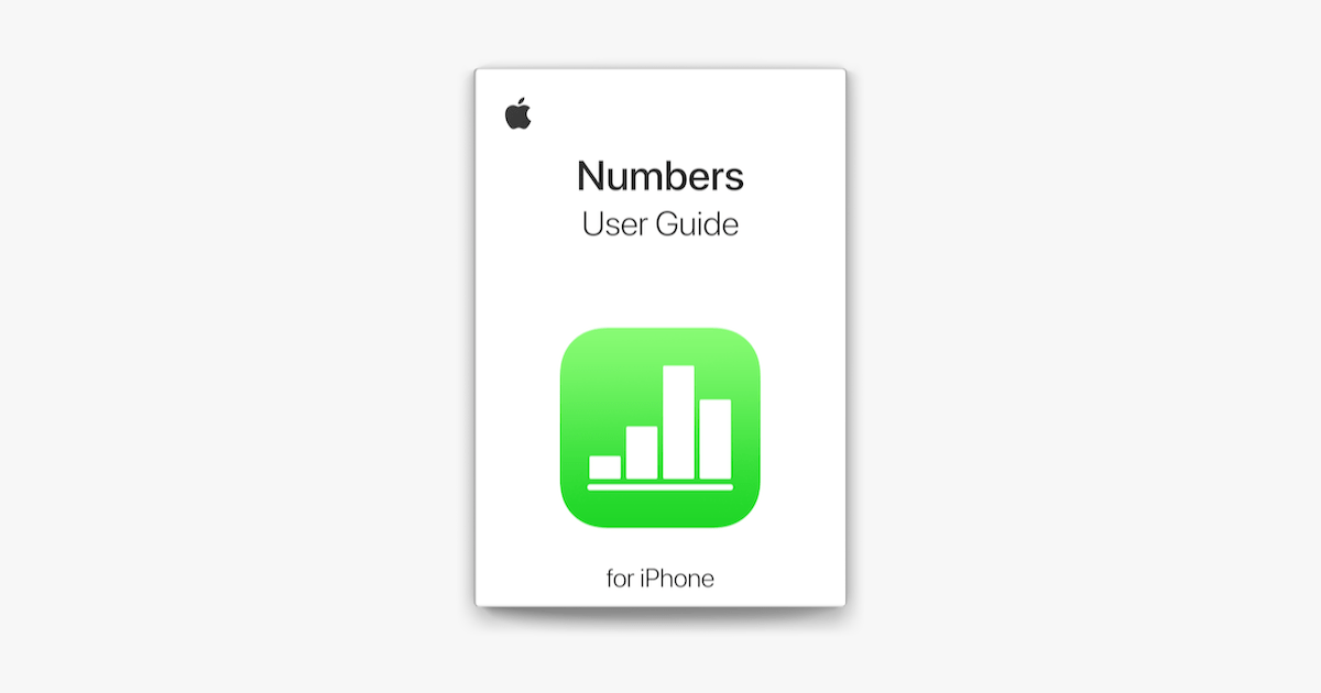 ‎Numbers User Guide for iPhone on Apple Books