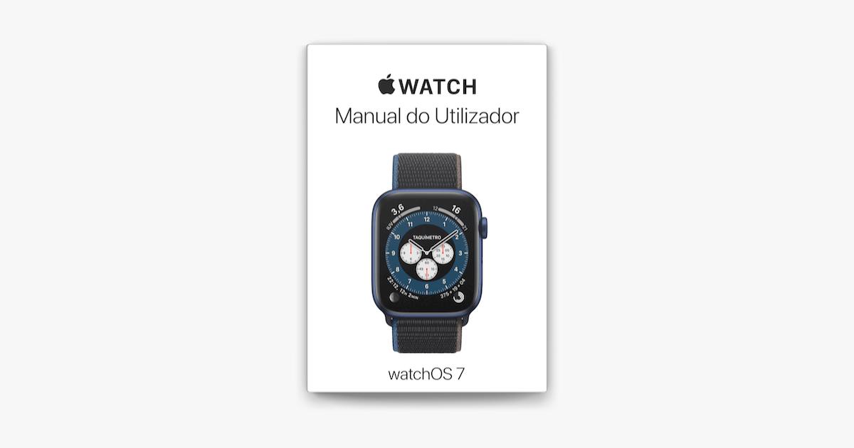 Manual do Utilizador do Apple Watch em Apple Books