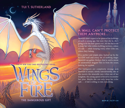 The Dangerous Gift (Wings of Fire, Book 14) - Tui T. Sutherland pdf download