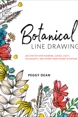 Botanical Line Drawing - Peggy Dean