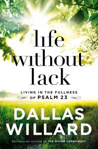 Life Without Lack - Dallas Willard pdf download