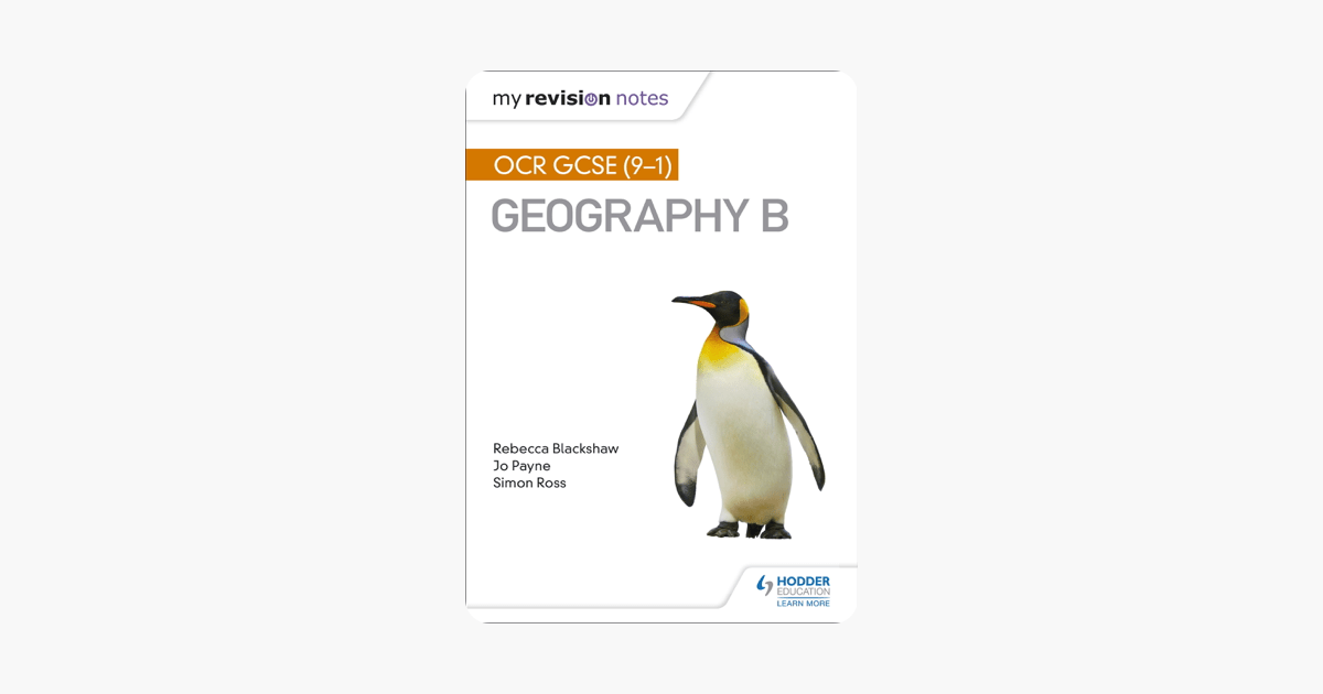 My Revision Notes: OCR GCSE (9–1) Geography B on Apple Books
