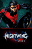 DC Comics - Nightwing 201 Booklet  artwork