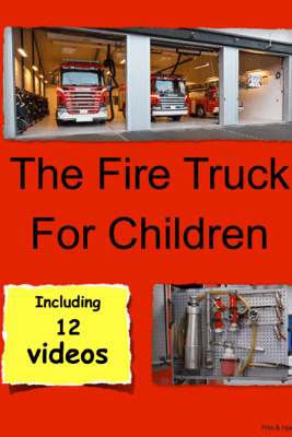 The Fire Truck For Children - Friis&Hoeberg