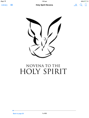‎Holy Spirit Novena on Apple Books