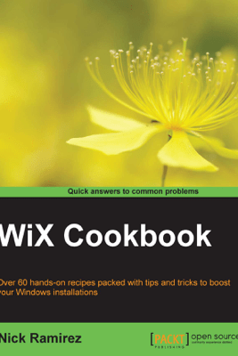 WiX Cookbook - Nick Ramirez
