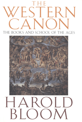 The Western Canon - Harold Bloom