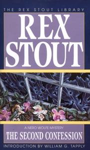 The Second Confession - Rex Stout pdf download