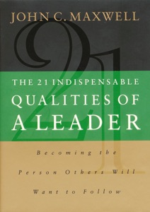 The 21 Indispensable Qualities of a Leader - John C. Maxwell pdf download