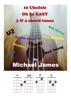 Michael James - 10 Ukulele Oh So EASY 3 & 4 chord tunes  artwork