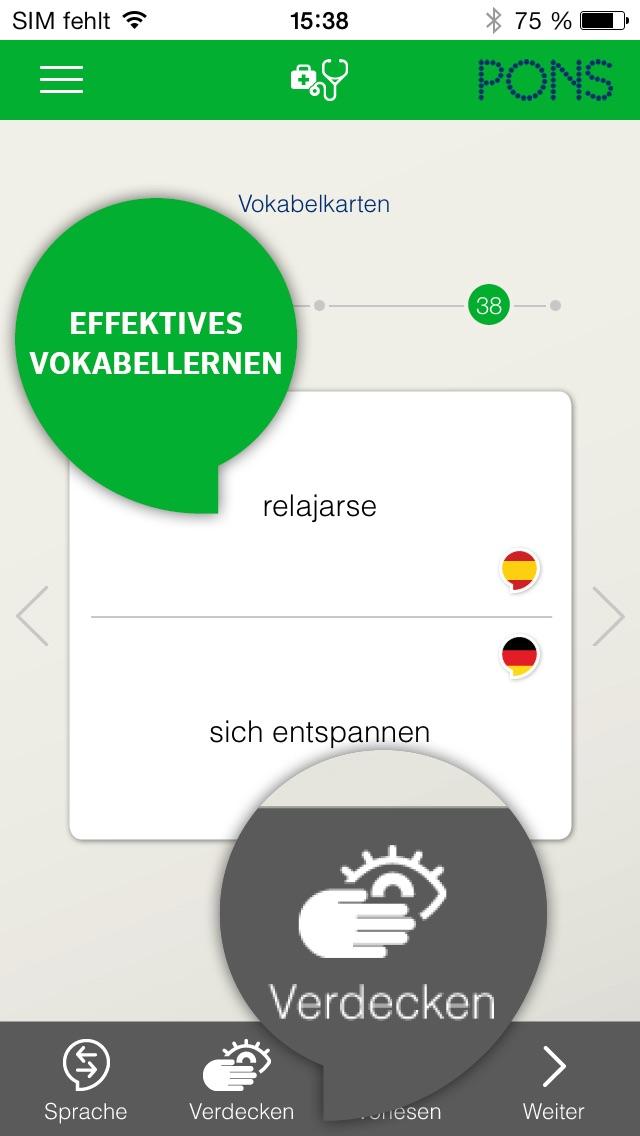 Spanisch lernen - PONS Sprachkurs für Anfänger Screenshot