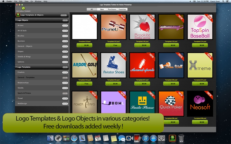 This free trial version of photoshop comes complete with all of its features and the latest updates. Logo Templates Toolbox For Adobe Photoshop For Windows Pc Mac Free Download 2021 Pcmacstore Com