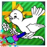Tap Bird Color Book For Kid by tachit kanasuwan