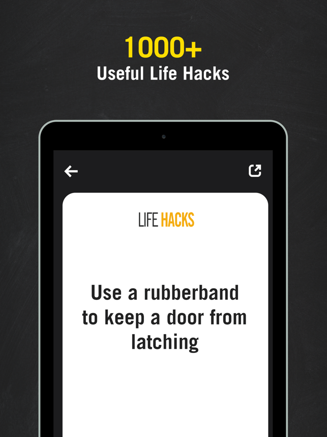 ‎Life Hack Tips -Daily Tips Screenshot