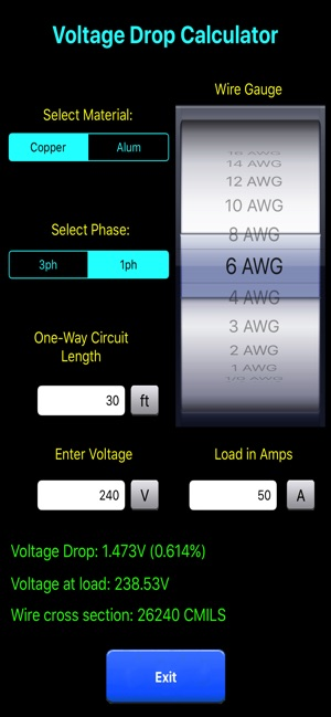 Electric Toolkit  Calculator on the App Store