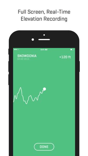 Ella - GPS Elevation Tracker Screenshot