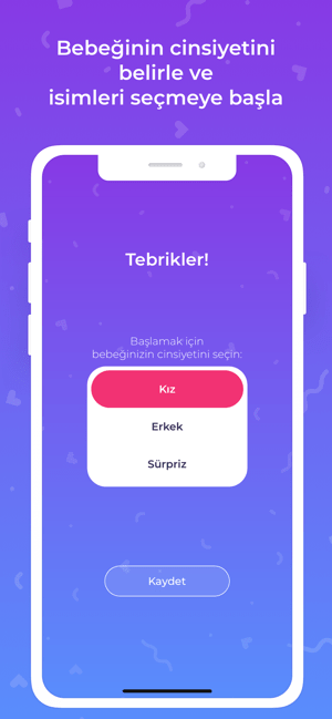 Bebito - Baby Name Matcher Screenshot
