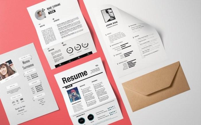 Resume Templates - DesiGN Screenshot 03 9wco3mn