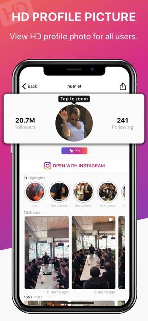 Profile Plus+ Story Reposter Screenshot