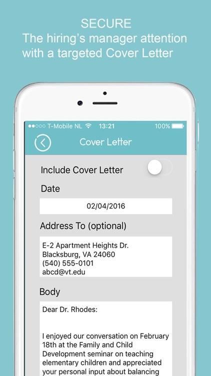 Resume Builder App For Iphone
