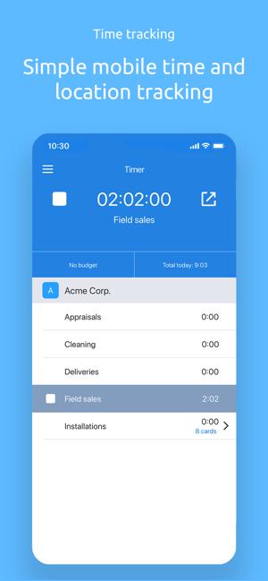 Hubstaff - Time Clock Screenshot