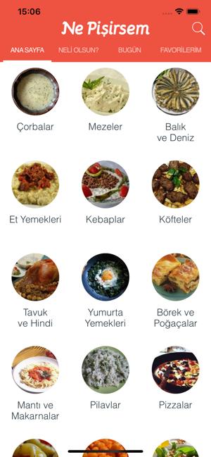 Ne Pişirsem? Yemek Tarifleri Screenshot