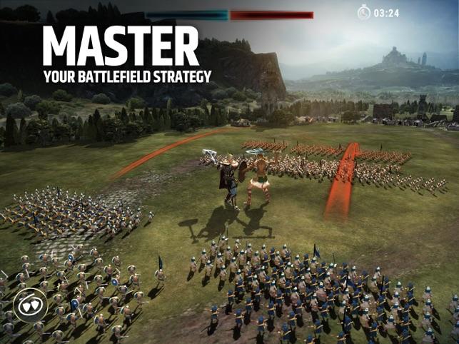 Dawn of Titans: War Strategy Screenshot